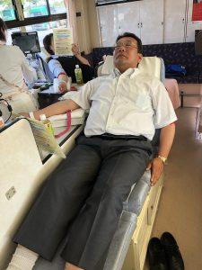 2018.5.15春の献血活動⑥