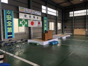2018.6.8-9夏の安全決起集会・安全祈願祭~準備①