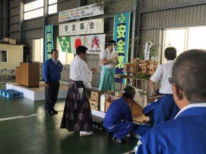 2018.6.8-9夏の安全決起集会・安全祈願祭~準備⑪